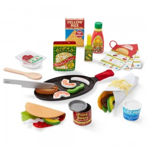 Melissa & Doug Taco and Tortilla Set 44pc