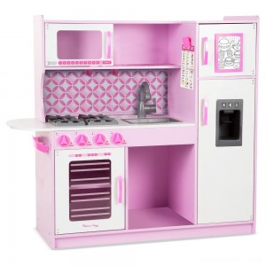 Melissa & Doug Chef's Kitchen Pretend Play Set - Cupcake Pink/White